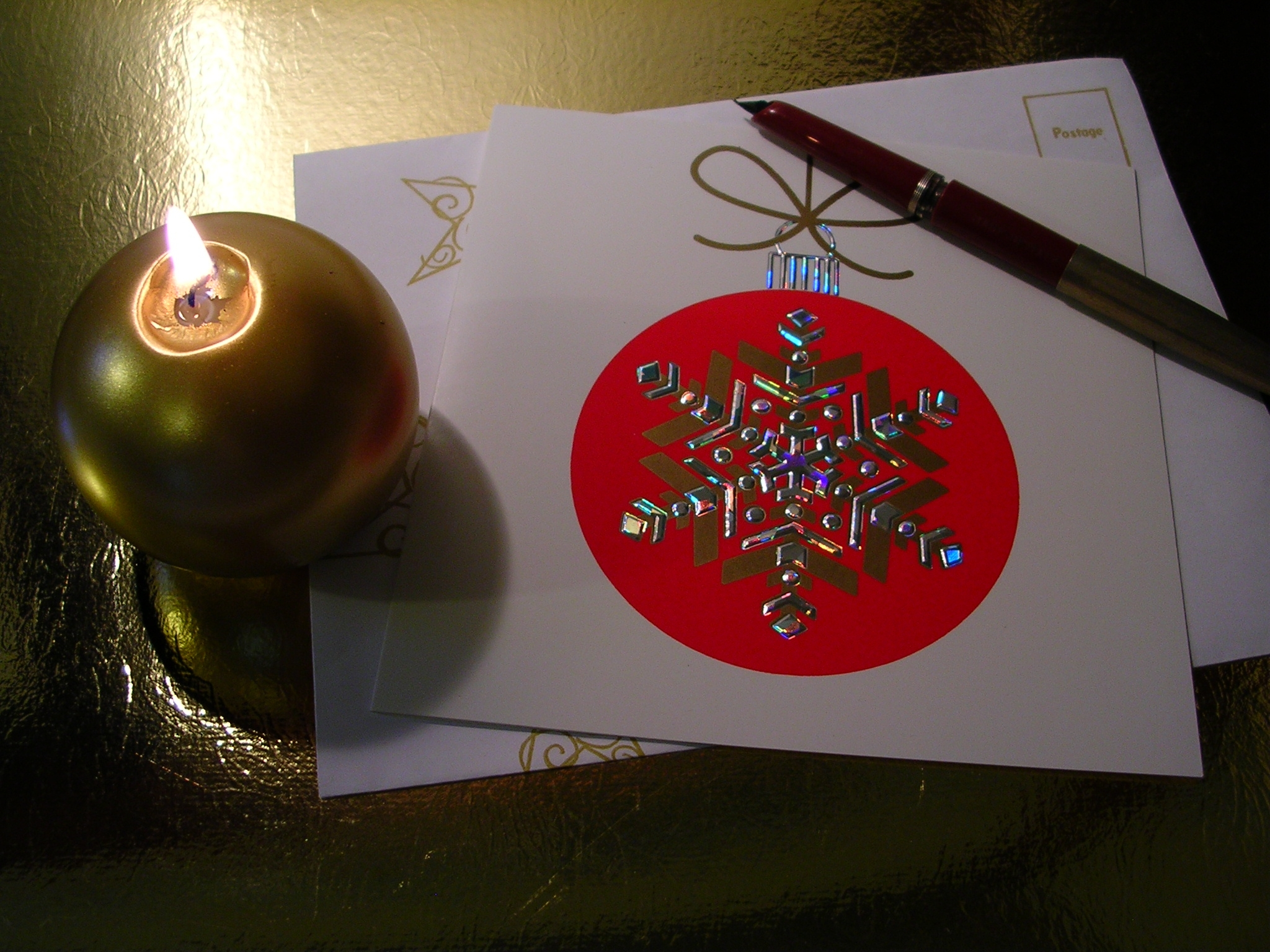 How to Make Duct Tape Christmas Cards